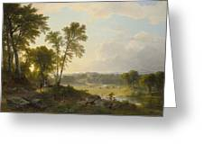 View Toward The Hudson Valley Greeting Card
