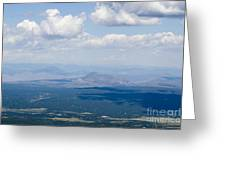 Views From The Pikes Peak Highway Greeting Card