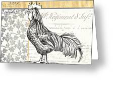 Vintage Farm 1 Greeting Card by Debbie DeWitt