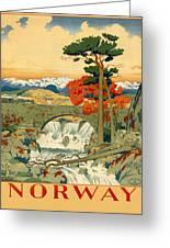 Vintage Poster - Norway Greeting Card
