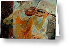 Violinist 67 Greeting Card