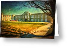 Virginia Military Institute Greeting Card by Kathy Jennings