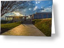 Virginia War Memorial Greeting Card