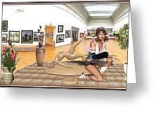 Virtual Exhibition - 33 Greeting Card