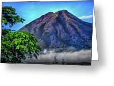 Volcan De Agua, Antigua Guatemala I Greeting Card