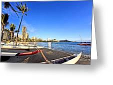 Waikiki Hawaii Greeting Card