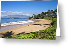 Wailea Ulua Beach Greeting Card