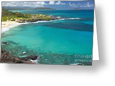 Waimanalo Coast Greeting Card