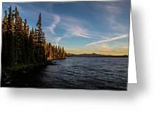 Waldo Lake Greeting Card