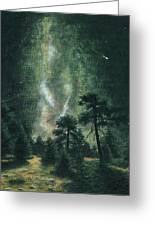 Walking After Midnight Greeting Card