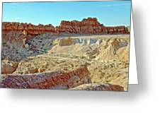 Wall Of Goblins On Carmel Canyon Trail In Goblin Valley State Park, Utah Greeting Card