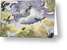 War In Heaven Greeting Card
