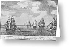 War Of 1812: Sea Battle Greeting Card