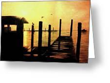 Warm Waters Greeting Card by Travis  Ragan