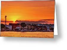 Washington Sunrise Greeting Card