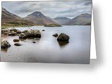 Wastwater Long Exposure Greeting Card