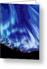 Watcher Of The Skies Greeting Card