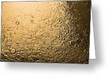 Water Abstraction - Liquid Gold Greeting Card