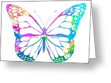 Watercolor Butterfly Greeting Card