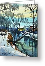 Watercolor3694 Greeting Card