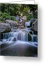 Waterfall Greeting Card by Ivelin Donchev