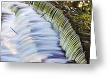 Waterfall Greeting Card by June Marie Sobrito