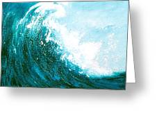 wave I Greeting Card