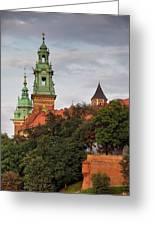 Wawel Royal Castle In Krakow Greeting Card