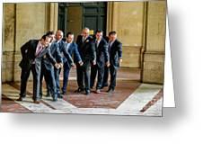Wedding Men Greeting Card