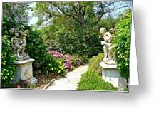 Welcome To My Garden Greeting Card