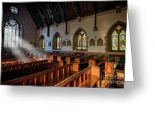 Welsh Church Greeting Card