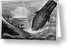 Whaling, 19th Century Greeting Card by Granger