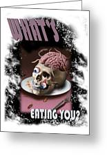 What's Eating You Greeting Card
