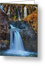 White River Falls State Park Greeting Card