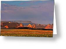 Wide-open Spaces - Page Arizona Greeting Card