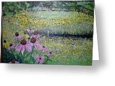Wild Spring Flowers Greeting Card