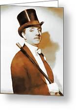 William Powell, Hollywood Legend Greeting Card