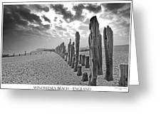 Winchelsea Beach Sussex Greeting Card