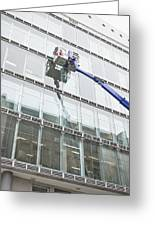 Window Cleaning Greeting Card