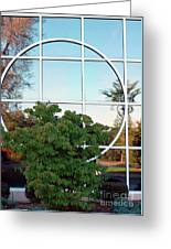 Window Reflections Greeting Card