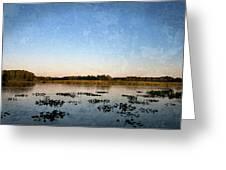 Wingfoot Lake Greeting Card