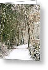 Winter Journey Greeting Card by Andy Smy