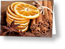 Winter Spices Greeting Card