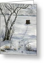 Winter Splendor Greeting Card