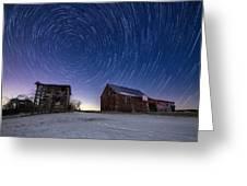 Winter Vortex Greeting Card