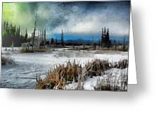 Winters Marsh Greeting Card