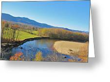 With A View  Greeting Card