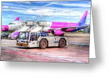 Wizz Air Airbus A321 Greeting Card