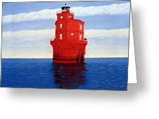 Wolf Trap Lighthouse Greeting Card