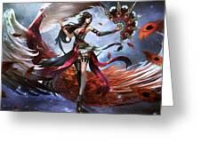 Women Warrior Greeting Card